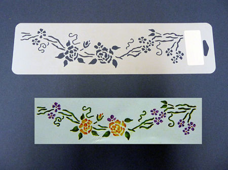 Cenefas para pintar en tela comentarios y fotos tattoo - Plantillas cenefas para pintar ...