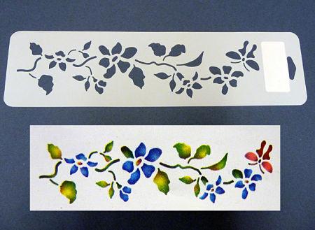 Cenefas flores para pintar imagui - Cenefas de madera para paredes ...