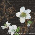 Paquete de servilletas Flor blanca - Paquete de servilletas decorativas, Flor blanca