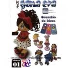 Revista goma eva, Fofuchas N� 1 - Revista Goma eva, Fofuchas N� 1