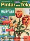 Revista aprendiendo a pintar tela, Tulipan - Revistas ediciones bienvenidas
