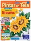 Revista aprendiendo a pintar tela, Nº2 Girasoles - Revista Aprendiendo a pintar tela, 2013 Nº 2