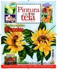 Revista de pintura sobre tela 2013. N�5 - Revista pintura en tela ediciones bienvenida, Girasoles