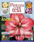 Revista de pintura sobre tela 2012. N� 9 - Revista para aprender a pintar tela con plantillas