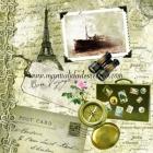 Paquete de servilletas, Bon Voyage - Paquete de servilletas decorativas, Bon voyage