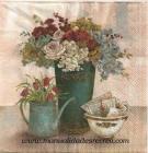 Paquete de servilletas Centro de flores - Paquete de servilletas decorativas, Centro de flores