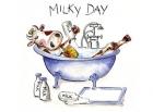 Paquete de servilletas Milky day - Paquete de servilletas decorativas, Milk