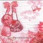 Paquete de servilletas Pretty - Paquete de servilletas decorativas, Pretty