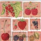 Paquete de servilletas Arandanos - Paquete de servilletas decorativo, frutas