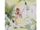 Paquete de servilletas hada de las flores - Paquete de servilletas decorativas, Hadas