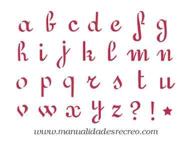 Plantilla de letras - Plantillas de letras para pintar paredes ...
