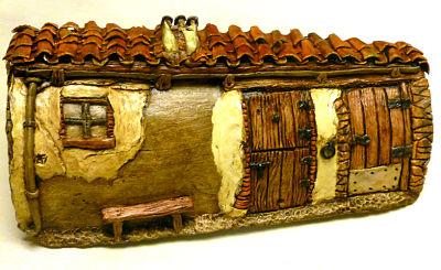 1000 images about artesanato telhas legal on pinterest - Manualidades para la casa paso a paso ...