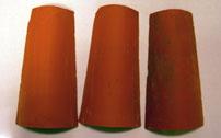 Tejas decoradas y tejas decorativas trabajos hechos a - Como decorar tejas rusticas ...