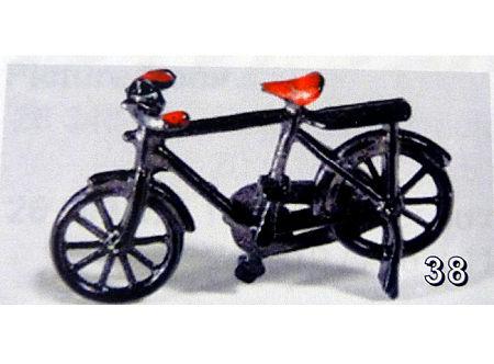 Bicicleta en miniatura -