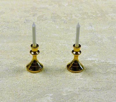 Candelabros en miniatura - Juego de candelabros