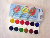 Acuarelas Talens 12 colores -