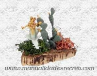 Chumbera en miniatura