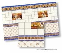 Papel de azulejo bodegón - Papel de azulejo para tejas