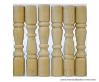 Balaustres barandilla  - Balaustres en miniatura