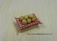 Barquilla de patatas - Barquilla de patatas en miniatura