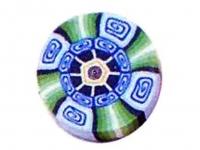 Barra millefiori espirales -