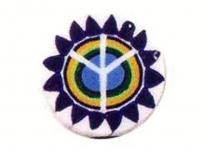 Barra millefiori flor-paz -