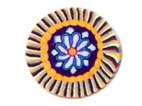 Barra millefiori rayas-flor