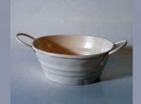Barreño de metal - balde de metal en miniatura