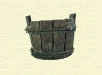 Barreño de madera