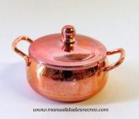 Cacerola de cobre -