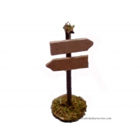 Indicador direcciones para belenes - Cartel direcciones para belenes