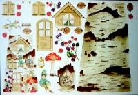 Papel para tejas Casa de nomos -