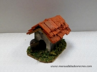 Caseta de perro - Caseta de madera para mascotas