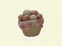 Cesta de huevos -
