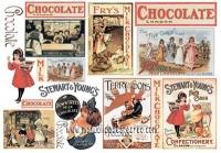 Papel arroz Chocolate -