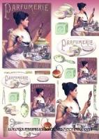 Papel Decoupage Perfumes -