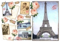 Papel de arroz Paris