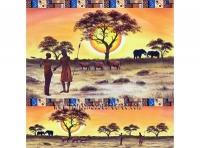 Papel arroz Dft201 Africa -