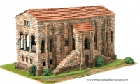 Maqueta de Santa María de Naranco - Maqueta de construcción de Santa María del Naranco