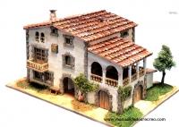 Maqueta de Casa Masía, Empordá - Maqueta de casa, Masía