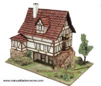Maqueta de Casa Alsaciana