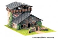 Maqueta Casa rustica - Maqueta de construcción, casa rústica