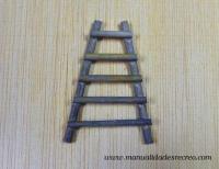 Escalera de maderas - Escalera de madera en miniatura