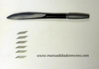Espatula de modelar con cuchillas - Espátula de modelado con cuchilla