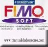 Pastilla Fimo Nº0 Blanco - fimo soft, Pastilla de 56g Nº 0 Blanco