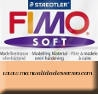 Pastilla Fimo Nº43 Carne - fimo soft, Pastilla de 56g Nº 43 Carne
