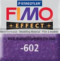 Fimo morado glitter 602 - Pasta fimo effect, Morado brillantina, arcilla polimérica de endurecido en horno casero.