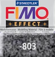Fimo granito 803 - Pasta fimo effect, Granito, arcilla polimérica de endurecido en horno casero.