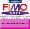 Pastilla Fimo Nº61 Purpura - fimo soft, Pastilla de 56g Nº 61 Violeta purpura