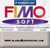 Pastilla Fimo Nº80 Gris - fimo soft, Pastilla de 56g Nº 80 Gris